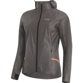 GORE WEAR R7 Gore-Tex Shakedry Hooded Jacket Women lava grey